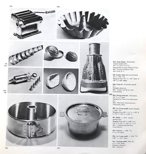 (Kitchen Implements) Smithsonian Institution & Renwick Gallery. Objects for Preparing Food.