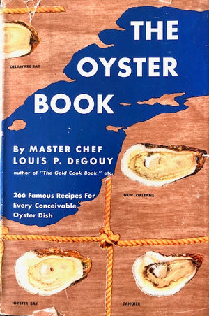 (Oysters) De Gouy, Louis P.  The Oyster Book.