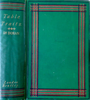 Doran, Dr. [John]. Table Traits, with Something on Them.