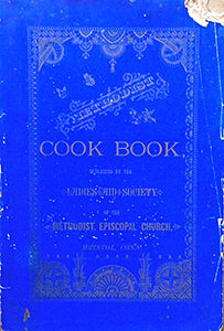 (Connecticut) Ladies Aid Society of the Methodist Episcopal Church. Methodist Cook Book.