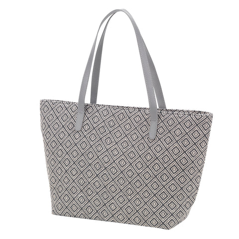 Grey Diamond Charlotte Purse