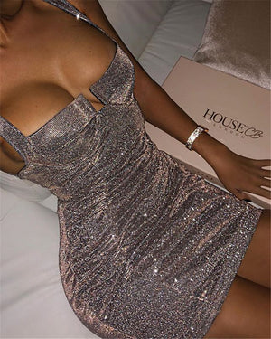 Slim High Waist Sexy Hip Dress