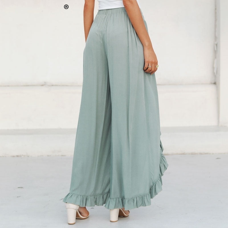 Design Light Green Pants