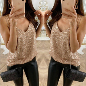 V-Neck Casual Vest Top