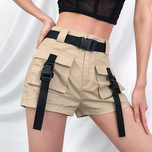 Loose Big Pocket Cargo Shorts