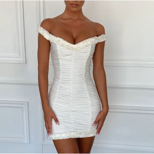 Design Sleeveless Sexy High Waist Hip Dress