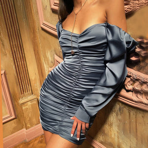 Women's Sexy Long Sleeve Dress