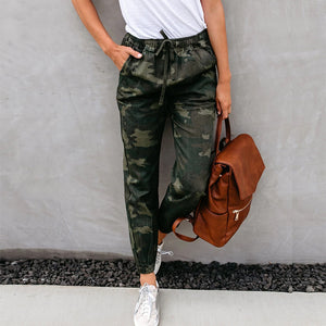 Pattern Camouflage Pants