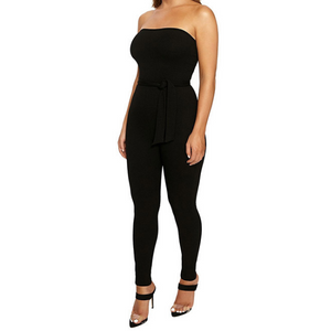 Sleeveless Open Back Jumpsuit