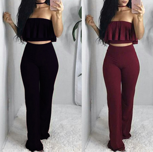 Women's Sexy High Waist Sleeveless Jumpsuit