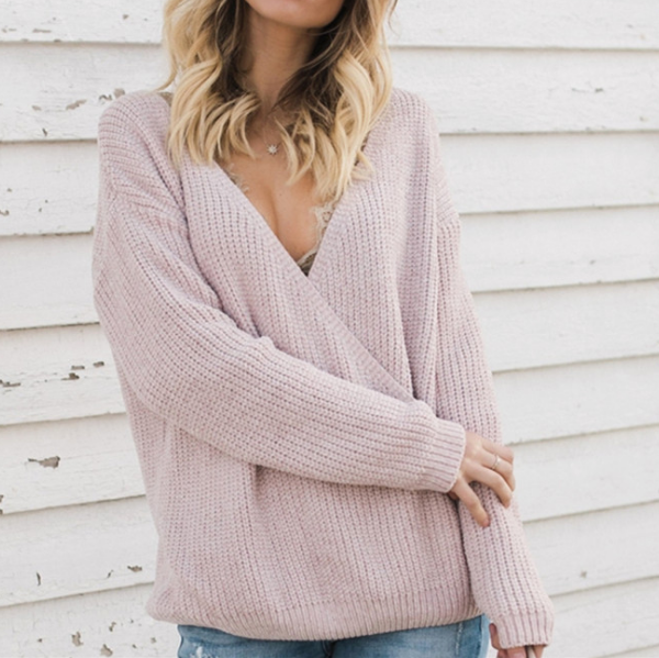 Loose Large Size Knit Sweater