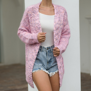 Loose Knitting Thick Cardigan Coat