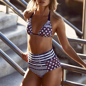 Sexy Printed Swimwear Bikinis Set