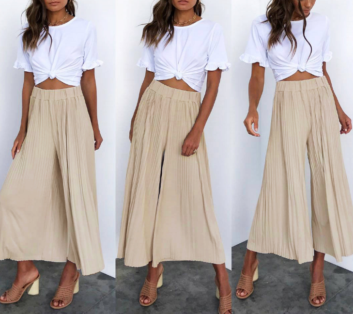 Casual Sexy Loose Trousers