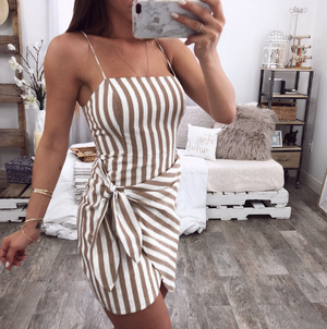 Sexy Sling Sleeveless Dress