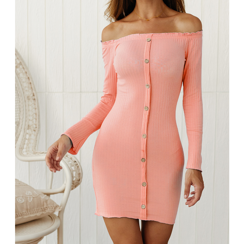 Women'S Strapless Hip Dress