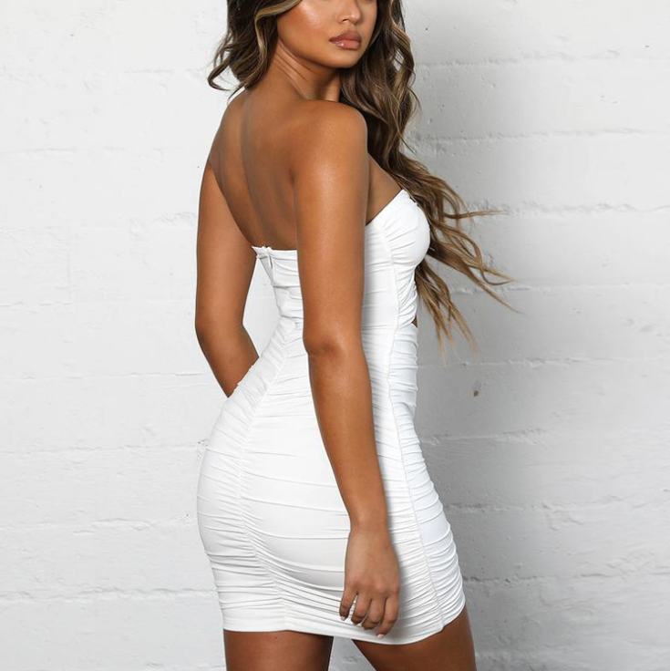 Sexy Bag Hip Slim Dress