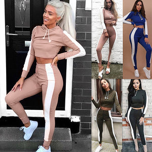 Casual Sports Pants Two-piece Set