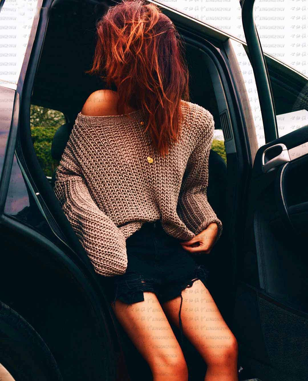Casual Loose Knitted Sweaters