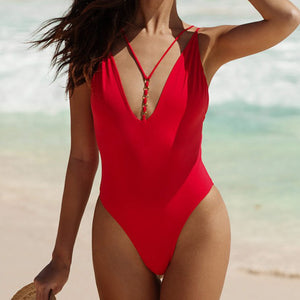 Fashion One Piece Slim Sexy Bikini Swimsuit