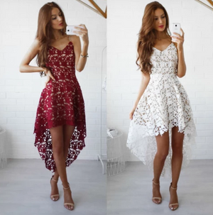 Sexy Fashion Lace Sleeveless Dress