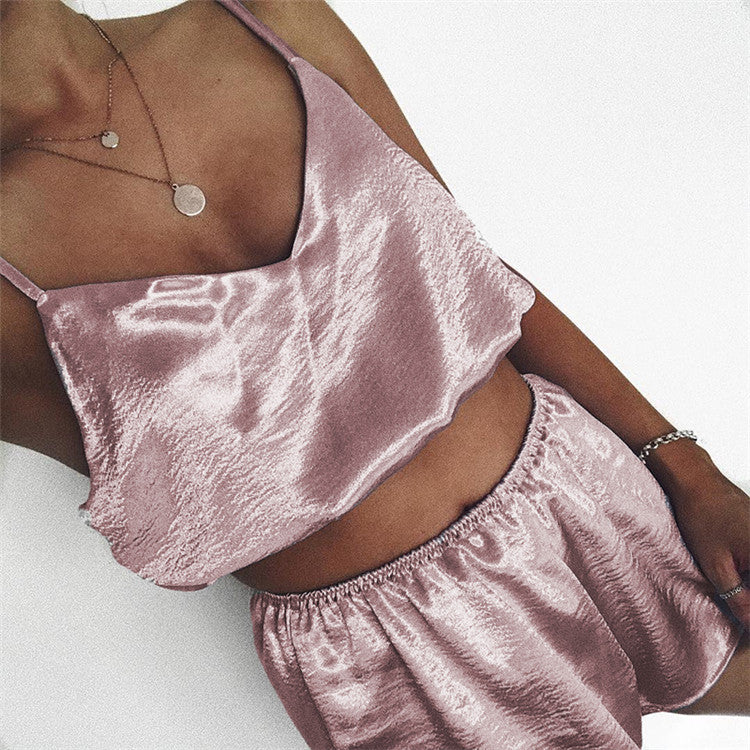 Sling Two-Piece Shorts Set