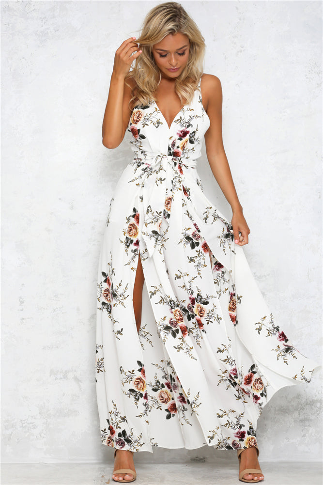 Women'S Sexy Printing Jumpsuit