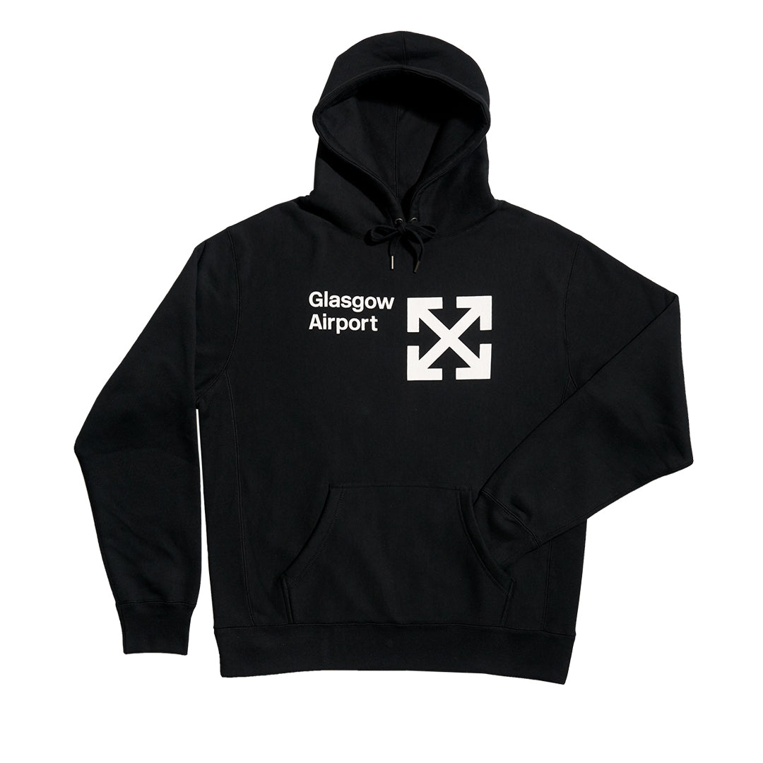 GLA Next Level 450gm Heavyweight Black Hoodie