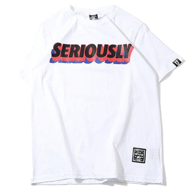Camiseta Seriously