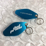 DP RACING KEYCHAIN - BLUE