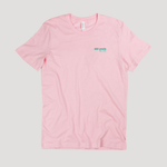 dp lowercase logo T-SHIRT - LIGHT PINK