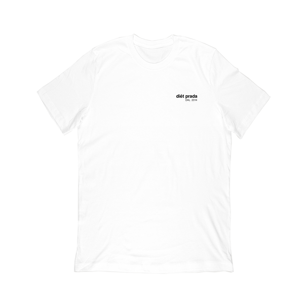 dp lowercase logo T-SHIRT - WHITE