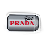 DIET PRADA IN A CAN STICKER - 3""