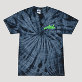 DP RACING T-SHIRT - BLACK TIE DYE