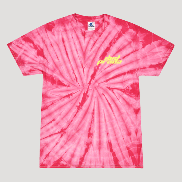 DP RACING T-SHIRT - PINK TIE DYE