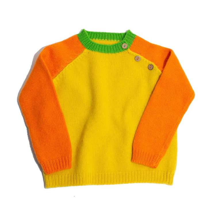 The Toddler Raglan Sweater
