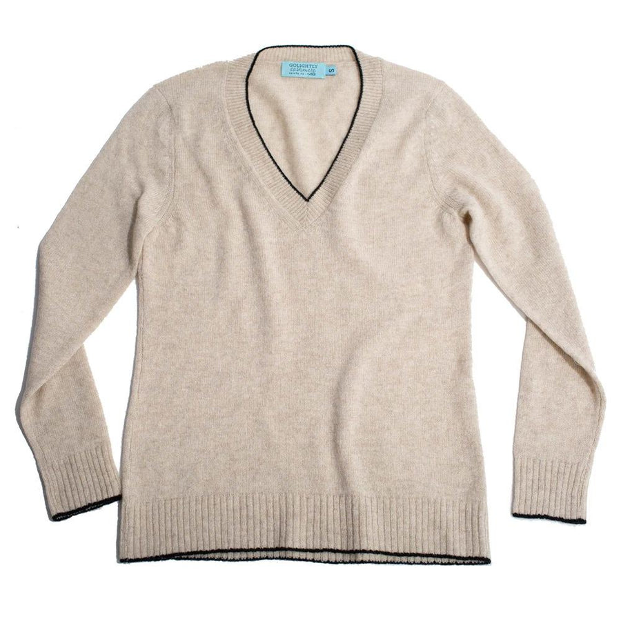 The Women's Deep V Sweater