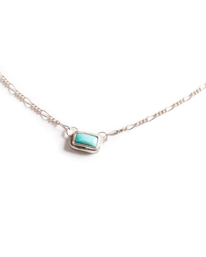Turquoise Speck Necklace