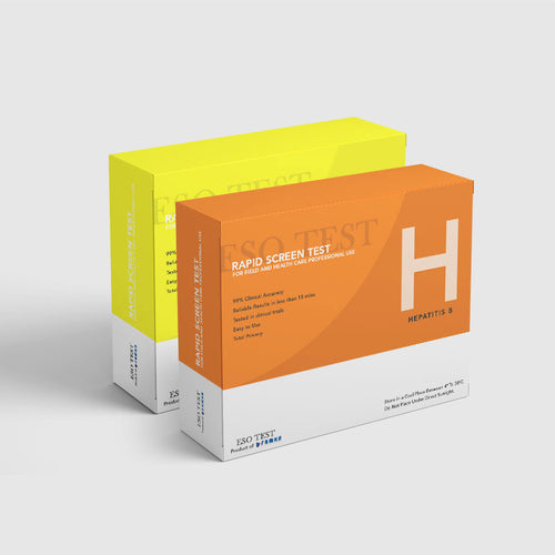 Hepatitis B & C (Combo) Rapid Screen Test Kits