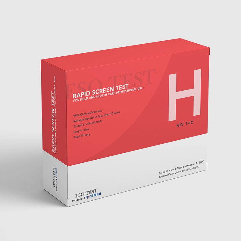 HIV (1&2) 3 Pack Rapid Test Kit (Home Test Kit)