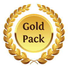 Autographed Gold Hustle God Pack - BezzBelieve