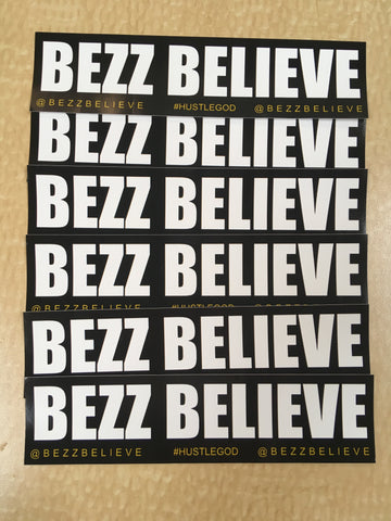 Sticker Pack - BezzBelieve
