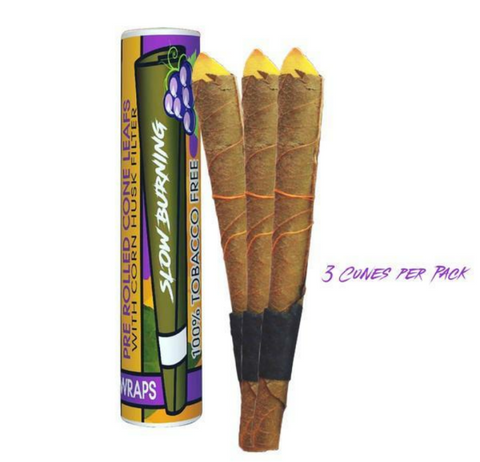 24 Pack Box Grape Flavored Cones - BezzBelieve