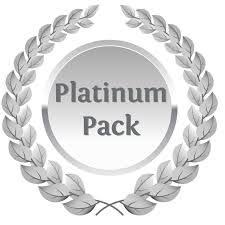 Autographed Platinum Hustle God Pack