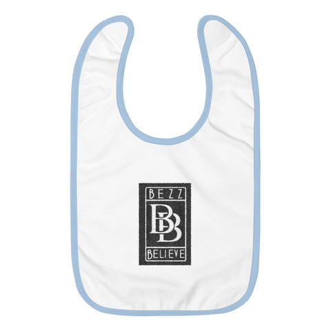 Embroidered Baby Bib - BezzBelieve