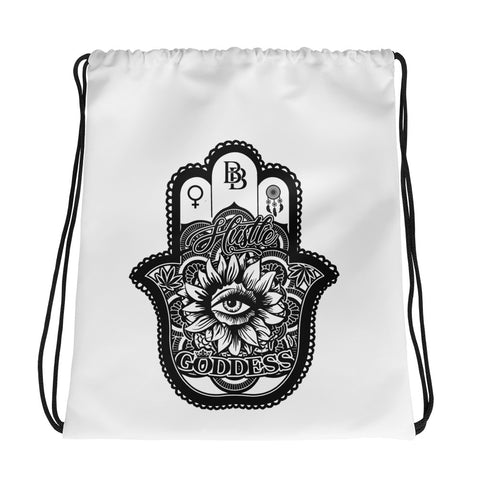 Hustle Goddess Drawstring Bag - BezzBelieve