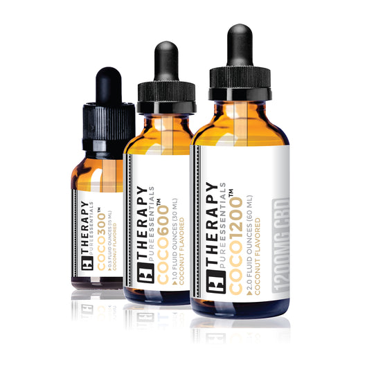 COCO • Whole Hemp Extracted CBD Daily Tinctures