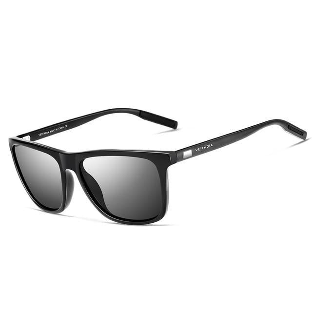 Retro Aluminum Sunglasses With Polarized Lens
