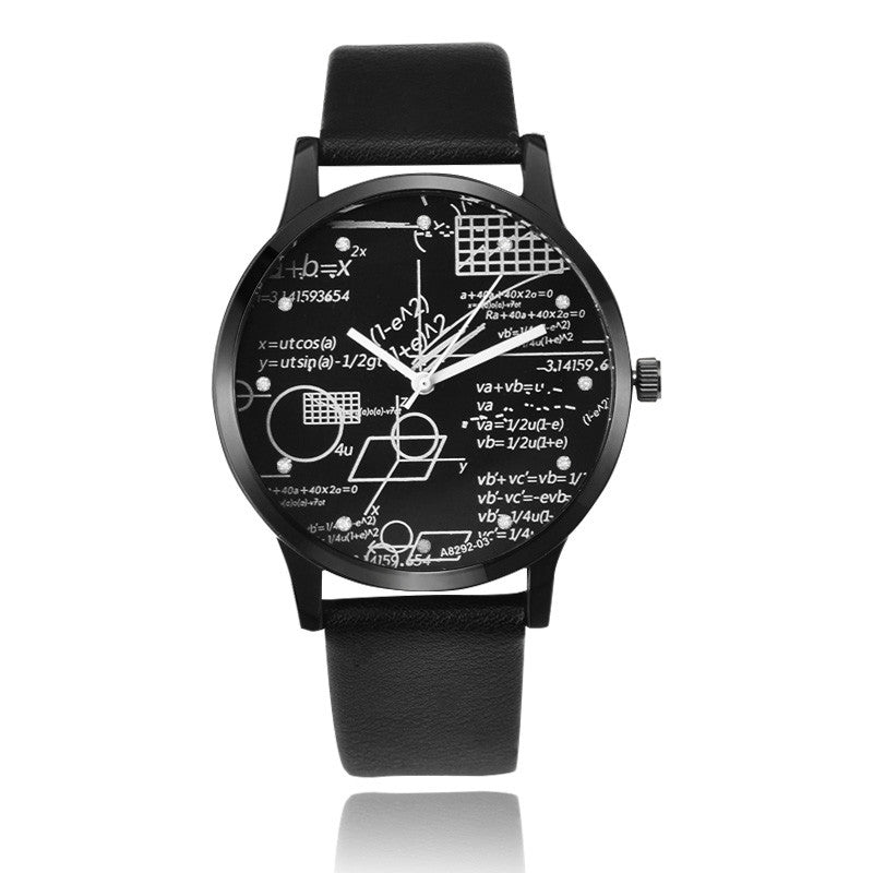 Miler Unique Wrist Watch Fashion Leather Mens Watches