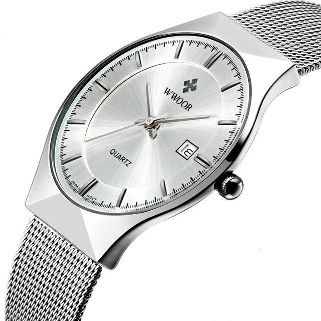 Luxury Slim Wristwatch